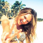 Candice Swanepoel Tulum VS Behind the Scenes