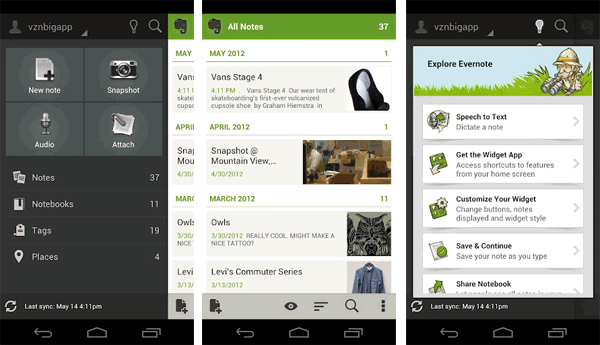 Evernote-para-Android