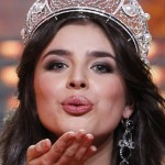 "Elmira Abdrazakova wins ""Miss Russia"" pageant at the Barvikha Luxury Village Concert Hall outside Moscow"