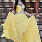 """Elmira Abdrazakova wins the annual """"Miss Russia"""" national beauty pageant outside Moscow"""