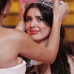 "Elmira Abdrazakova from Mezhdurechensk wins ""Miss Russia"" at the Barvikha Luxury Village Concert Hall outside Moscow"