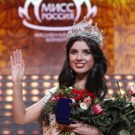 "Elmira Abdrazakova wins ""Miss Russia"" at the Barvikha Luxury Village Concert Hall outside Moscow"