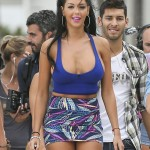 Nabilla - filiming (1)