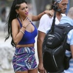 Nabilla - filiming (12)
