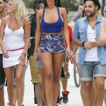Nabilla - filiming (13)
