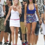 Nabilla - filiming (2)