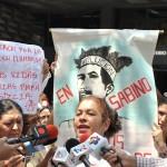 PROTESTA POR LA MUERTE DEL CACIQUE