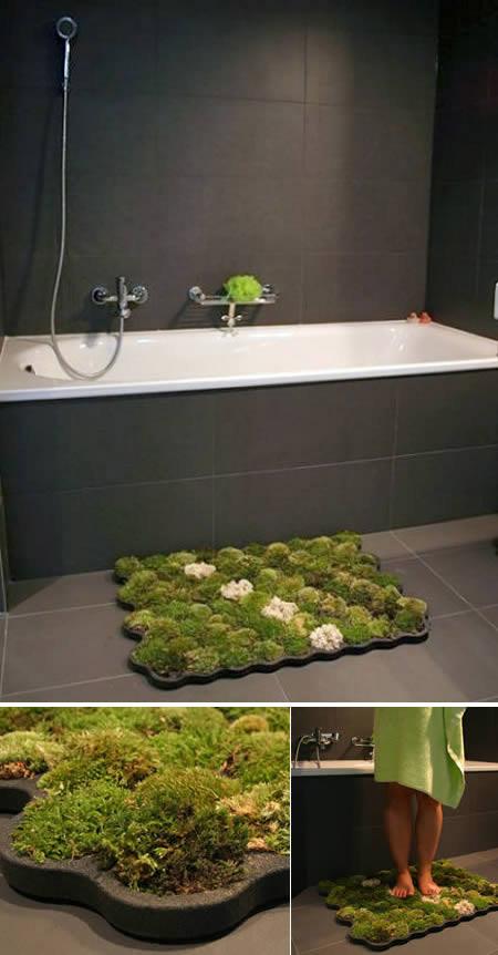Baños Originales Fotos:Moss Bath Rug