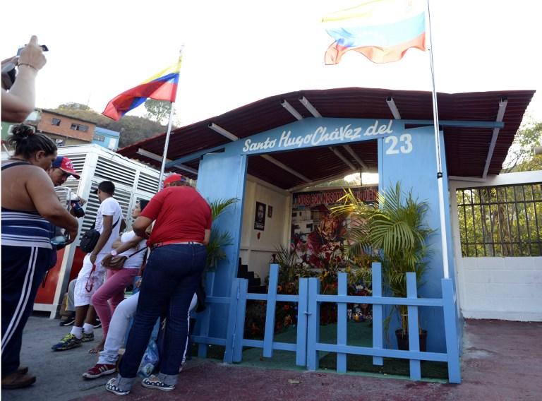 VENEZUELA-CHAVEZ-CHAPEL