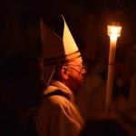 VATICAN-POPE-HOLY SATURDAY-EASTER VIGIL