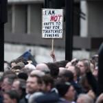 BRITAIN-POLITICS-THATCHER-FUNERAL