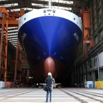 GERMANY-SHIPPING-FREIGHTER-CONSTRUCTION