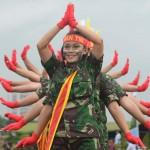 INDONESIA-MILITARY-WOMEN