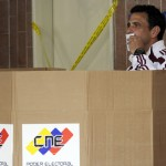 VENEZUELA-ELECTION-CAPRILES