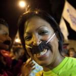 VENEZUELA-ELECTION-MADURO-SUPPORTERS