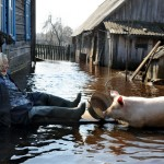 BELARUS-WEATHER-FLOOD