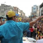 Capriles en Aragua 1