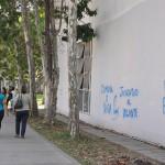 QUITARON PARTES DE LOS GRAFFITI EN LA UCV (3)