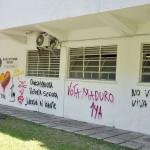 QUITARON PARTES DE LOS GRAFFITI EN LA UCV 5 (1)