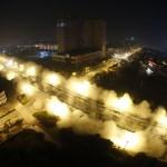 CHINA-BRIDGE-DEMOLITION