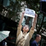 CHINA-KUNMING-PROTEST