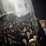 Ultra-Orthodox Israelis protest over the draft