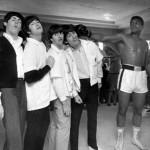 Los Beatles y Muhammad Ali.