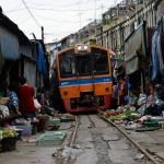 THAILAND-TRANSPORT-TRAIN-MARKET