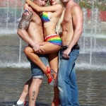 Courtney Stodden bikini gay pride (16)