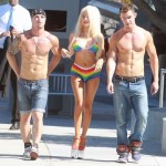 Courtney Stodden bikini gay pride (2)