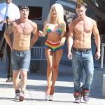 Courtney Stodden bikini gay pride (2)