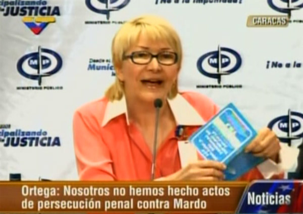 Recordar es vivir: El memorable enredo de la Fiscal General Luisa Ortega Díaz (+Video)