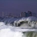 CHILE-CLIMATE-HEAVY SEA