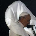 BRAZIL-POPE-WYD-WELCOMING