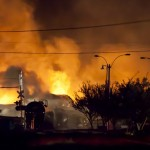 Explosions rock Canadian town after oil-laden train derails