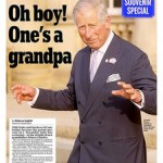 Royal baby front pages