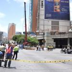 TRABAJO EN LA ESTACION DEL METRO CHACAO (5)