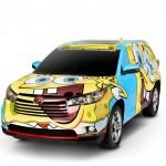 Toyota-Highlander-BobEsponja (1)