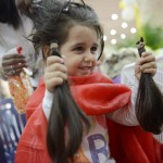 VENEZUELA-HEALTH-CANCER-HAIR-DONATION