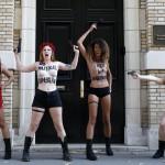 FRANCE-UKRAINE-FEMEN-PROTEST