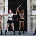 FRANCE-UKRAINE-FEMEN-PROTEST