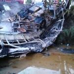 AL MENOS 16 MUERTOS EN CHOQUE ENTRE AUTOBUS Y CAMIÓN EN VENEZUELA