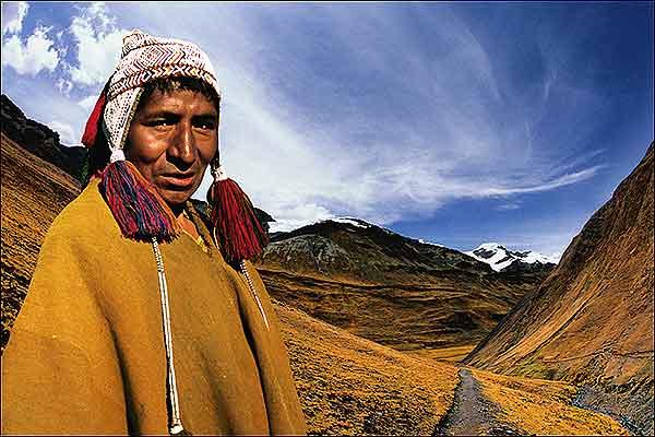 indigena de bolivia: