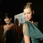 Carolina Herrera - Backstage - Mercedes-Benz Fashion Week Spring 2014