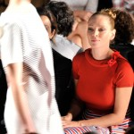 Carolina Herrera - Front Row - Mercedes-Benz Fashion Week Spring 2014