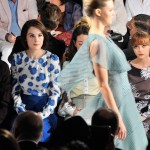 Carolina Herrera - Front Row - Mercedes-Benz Fashion Week Spring 2014