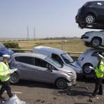 BRITAIN-ROAD-ACCIDENT-TRANSPORT