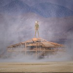 Burning Man Art Preview: Burning Man on the mothership