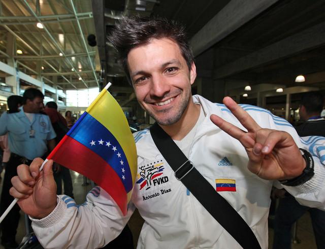 Antonio Díaz se alza con el bronce en el Mundial de Kárate