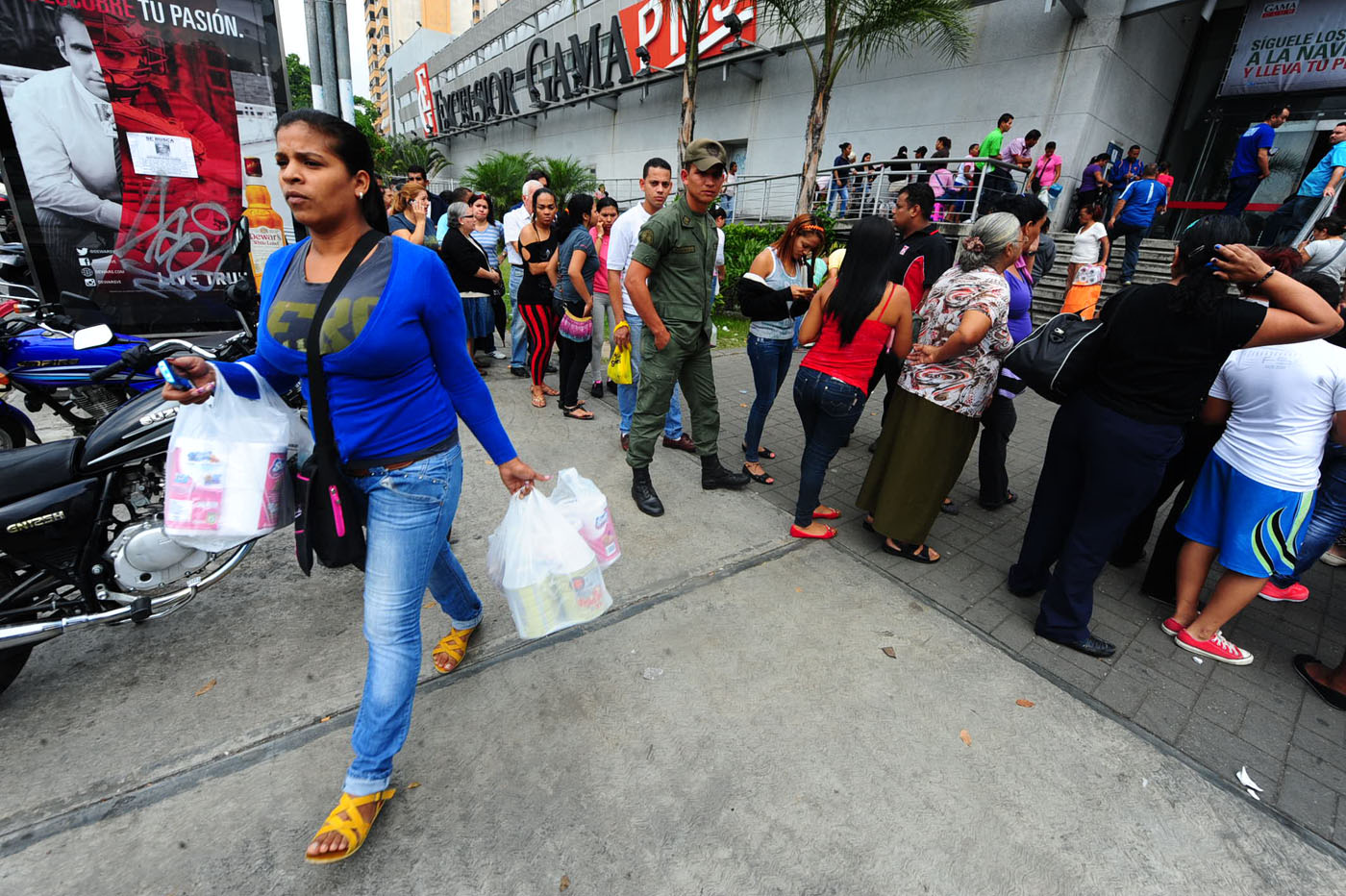 Desabastecimiento en Venezuela